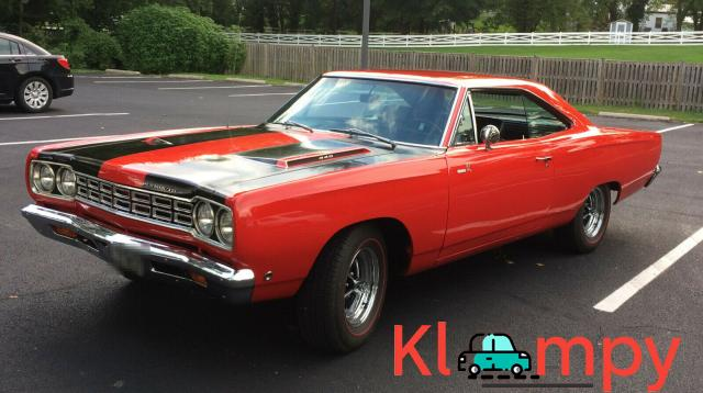 1968 Plymouth Road Runner 440 RWD - 1/15