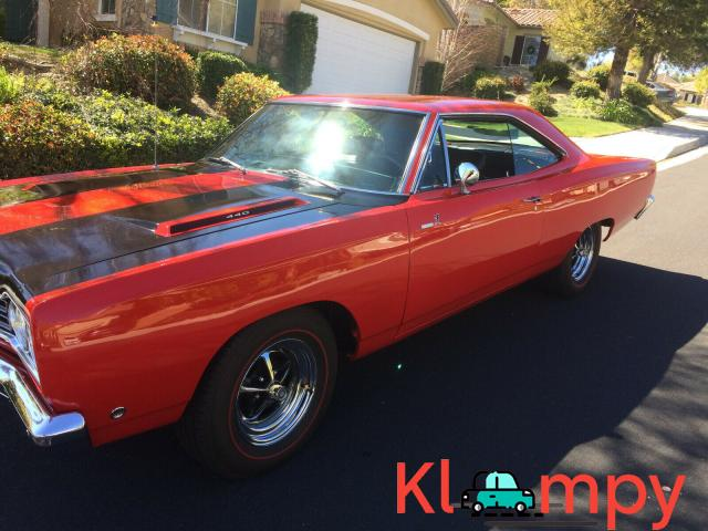 1968 Plymouth Road Runner 440 RWD - 6/15