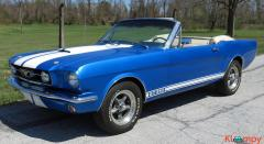 1966 Ford Mustang Convertible 289 Acapulco Blue