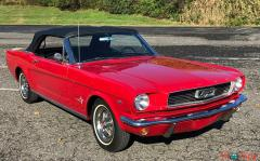 1966 Ford Mustang Convertible 289 A Code V8