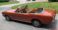 1966 Ford Mustang Convertible Emberglo Metallic 289 V8