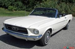 1967 Ford Mustang Convertible Wimbledon White 289 V8