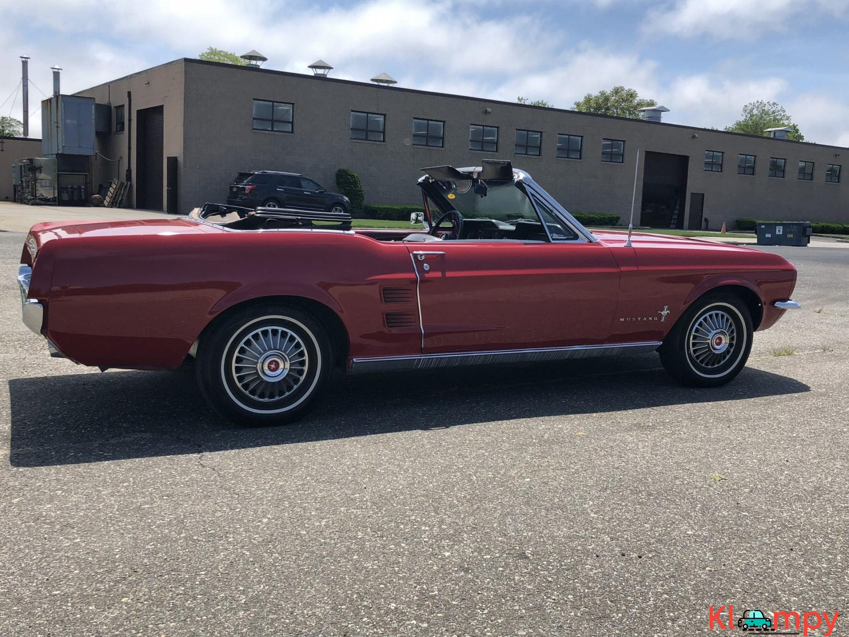 1967 Ford Mustang Convertible Red