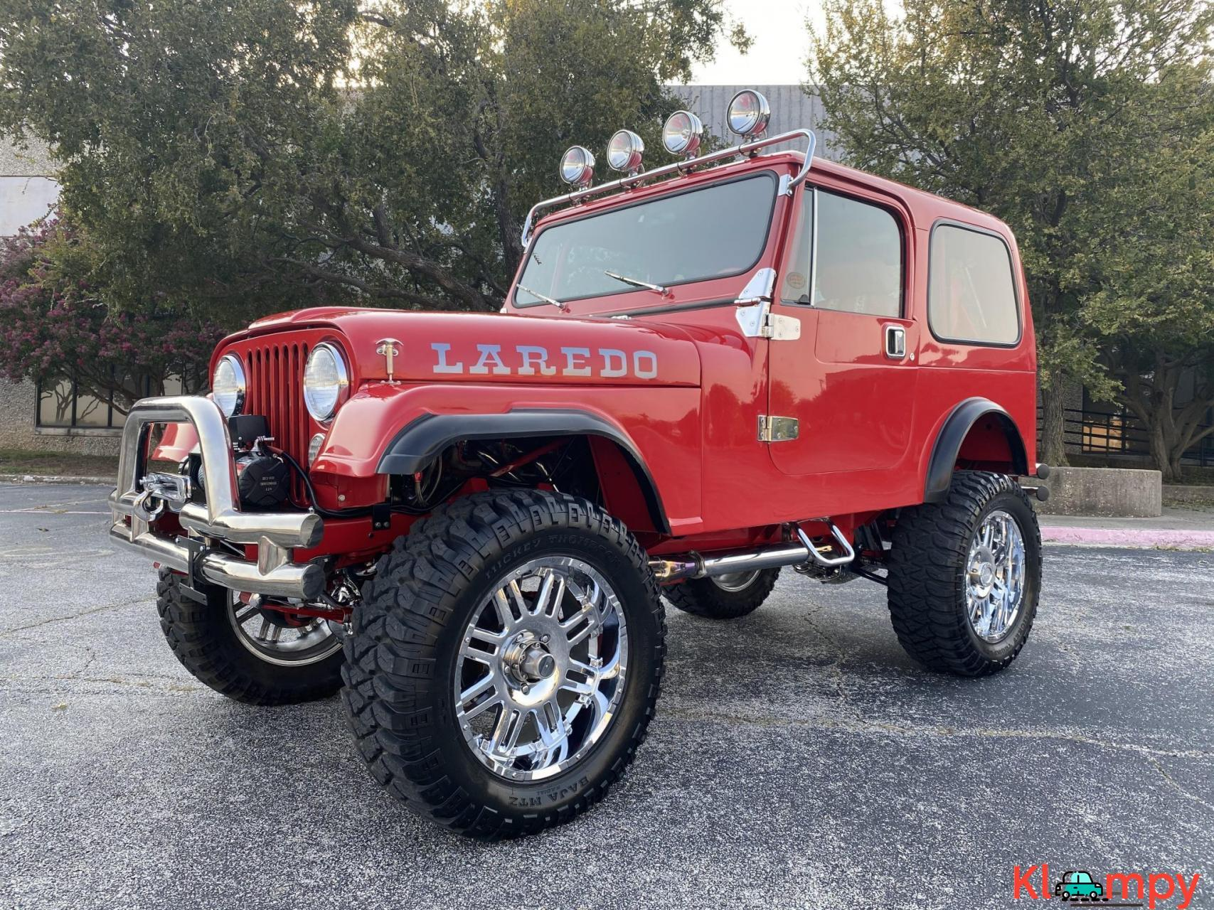 1983 Jeep CJ-7 Supercharged 350 V8 - 2/20