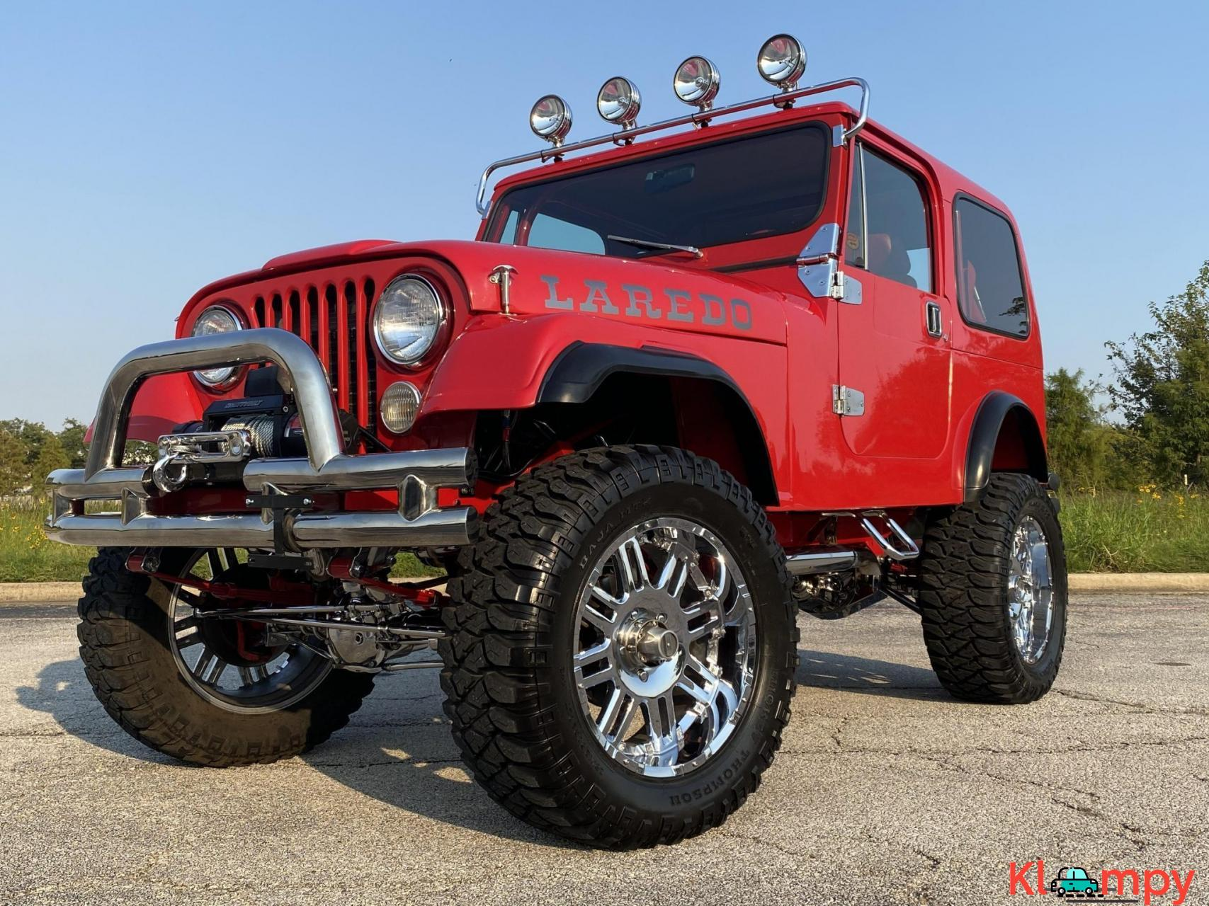1983 Jeep CJ-7 Supercharged 350 V8 - 4/20