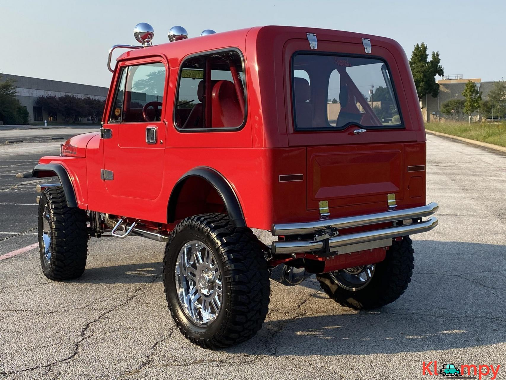 1983 Jeep CJ-7 Supercharged 350 V8 - 5/20