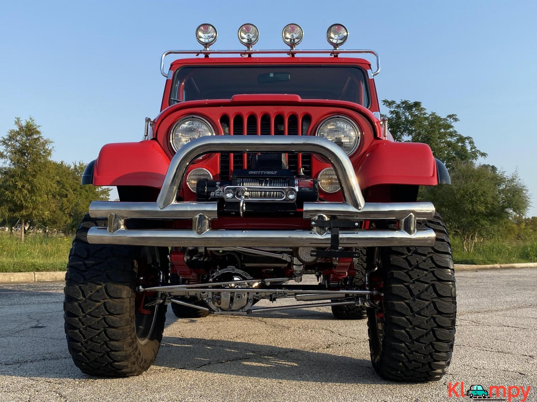 1983 Jeep CJ-7 Supercharged 350 V8 - 8/20