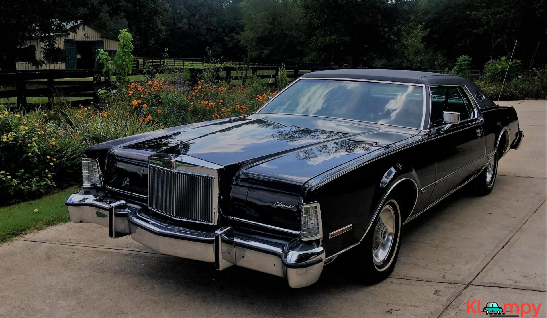 1974 Lincoln Continental Mark IV Coupe V8 - 3/20