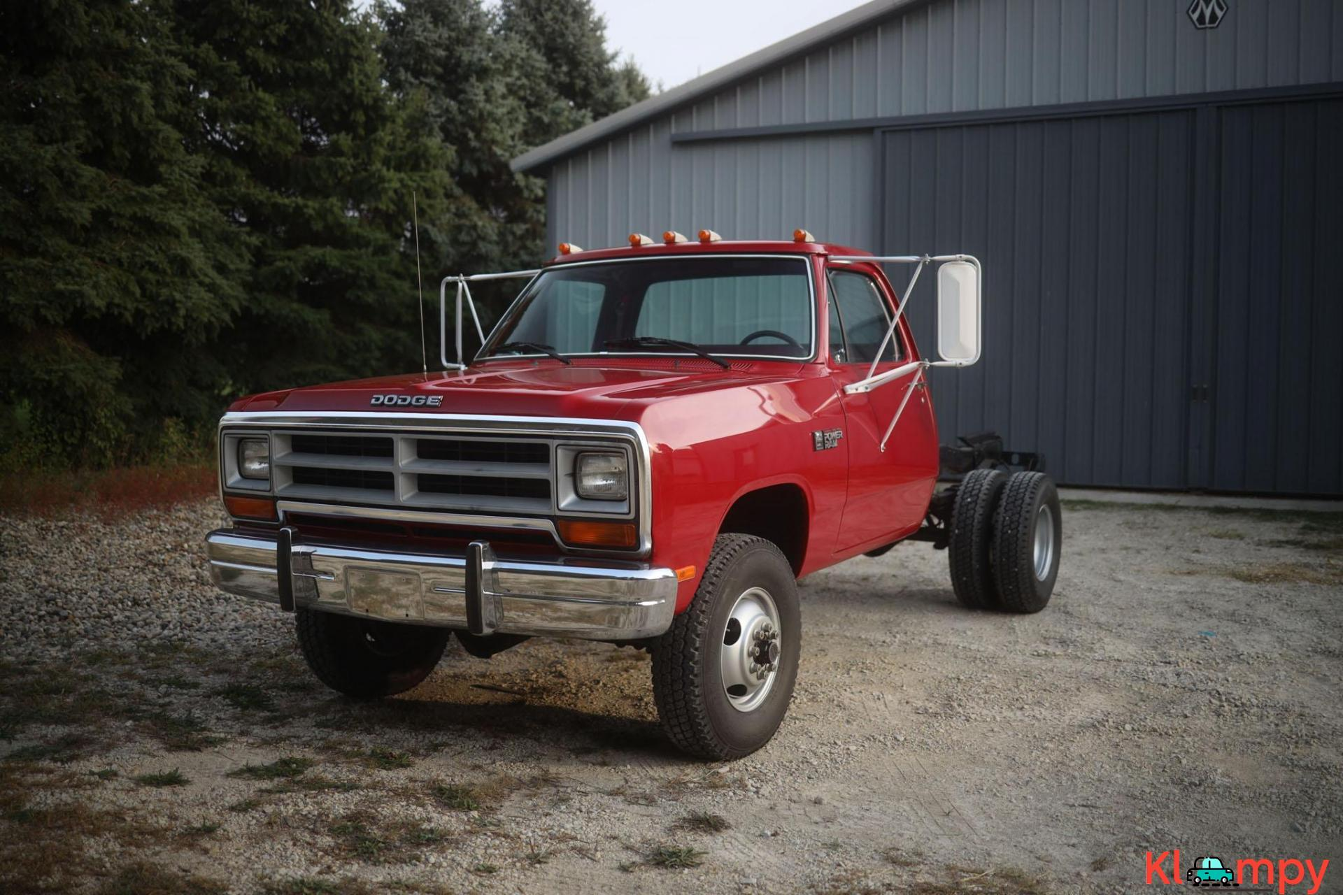 1989 Dodge Power Ram W350 4×4 Truck - 3/20