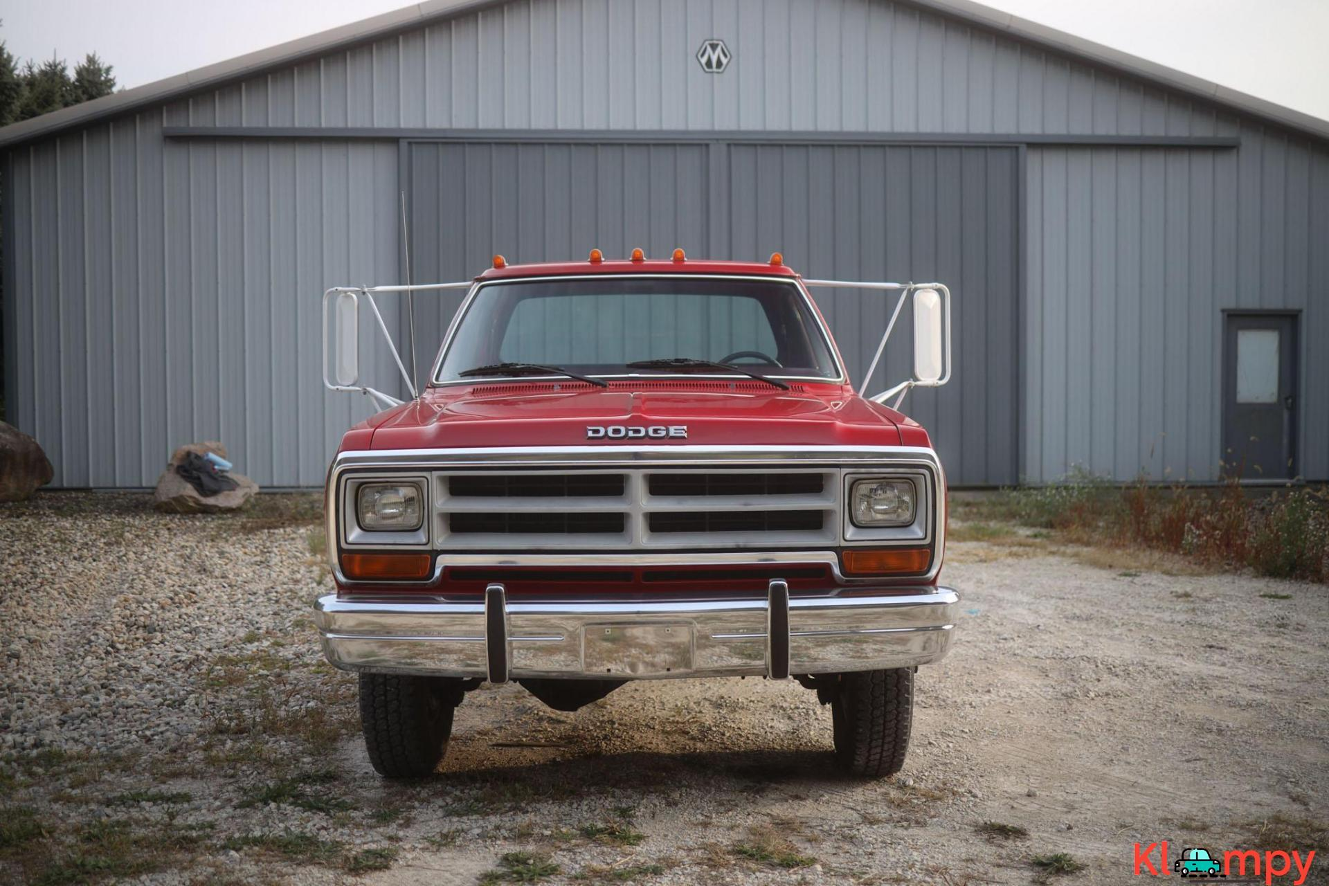 1989 Dodge Power Ram W350 4×4 Truck - 4/20
