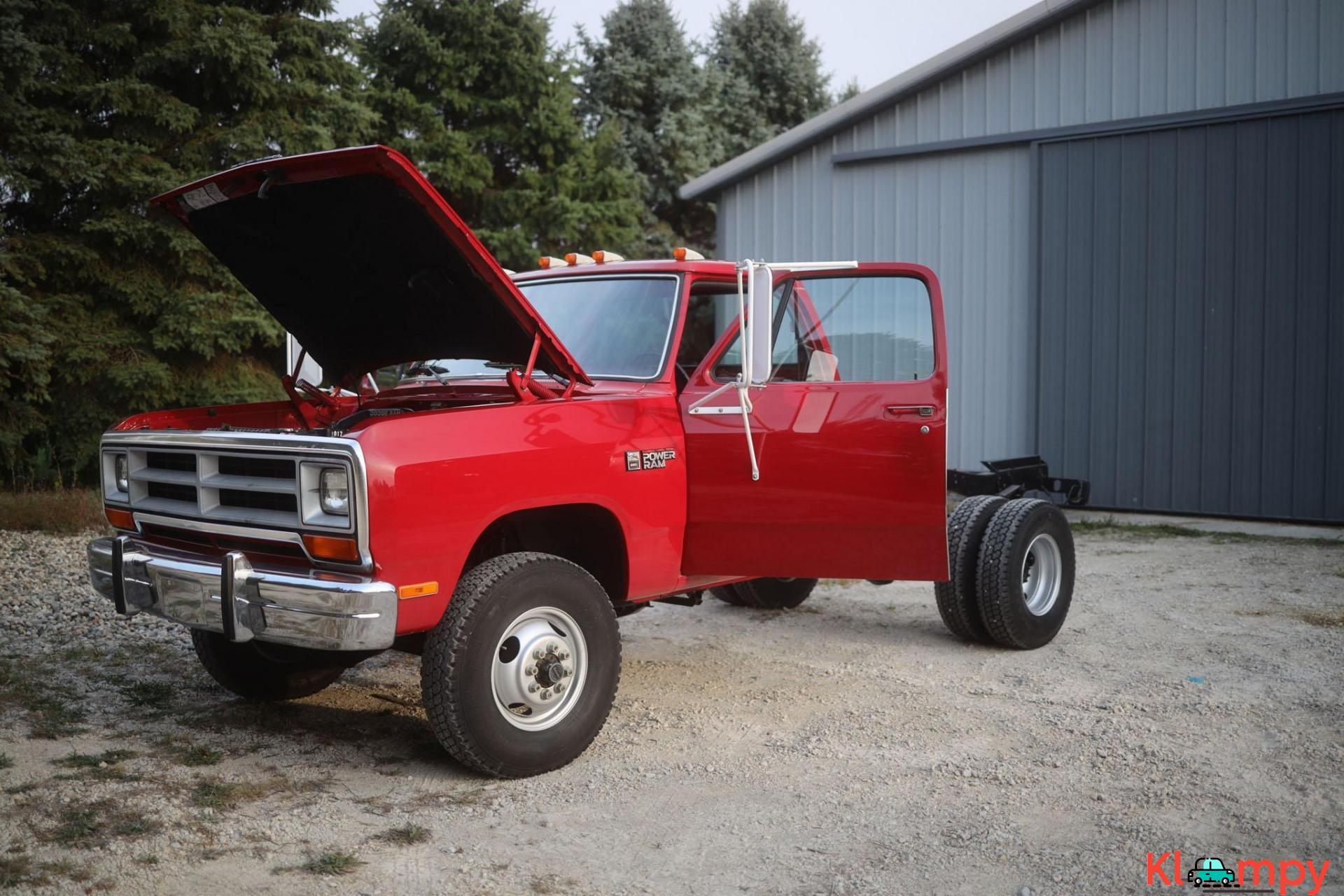 1989 Dodge Power Ram W350 4×4 Truck - 7/20