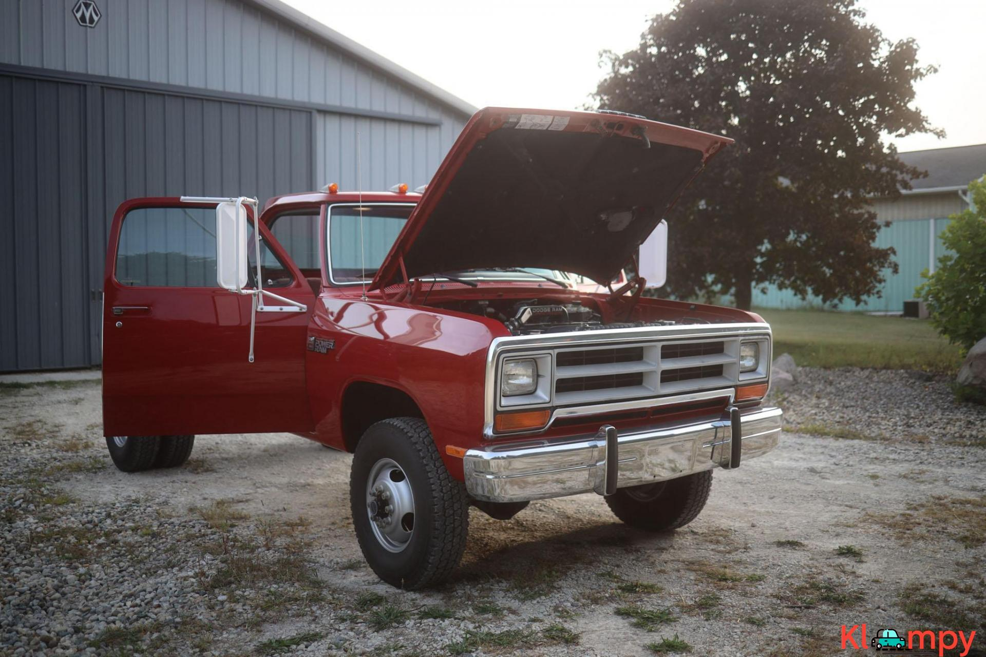 1989 Dodge Power Ram W350 4×4 Truck - 8/20