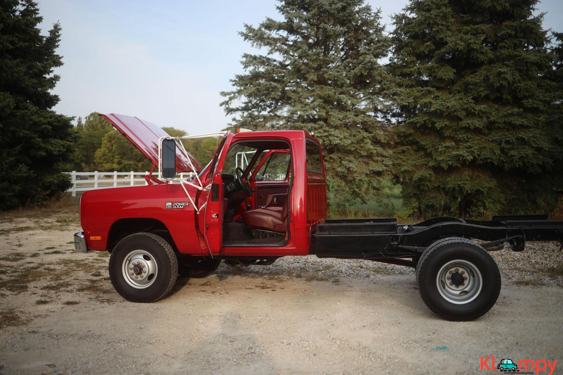 1989 Dodge Power Ram W350 4×4 Truck - 10/20