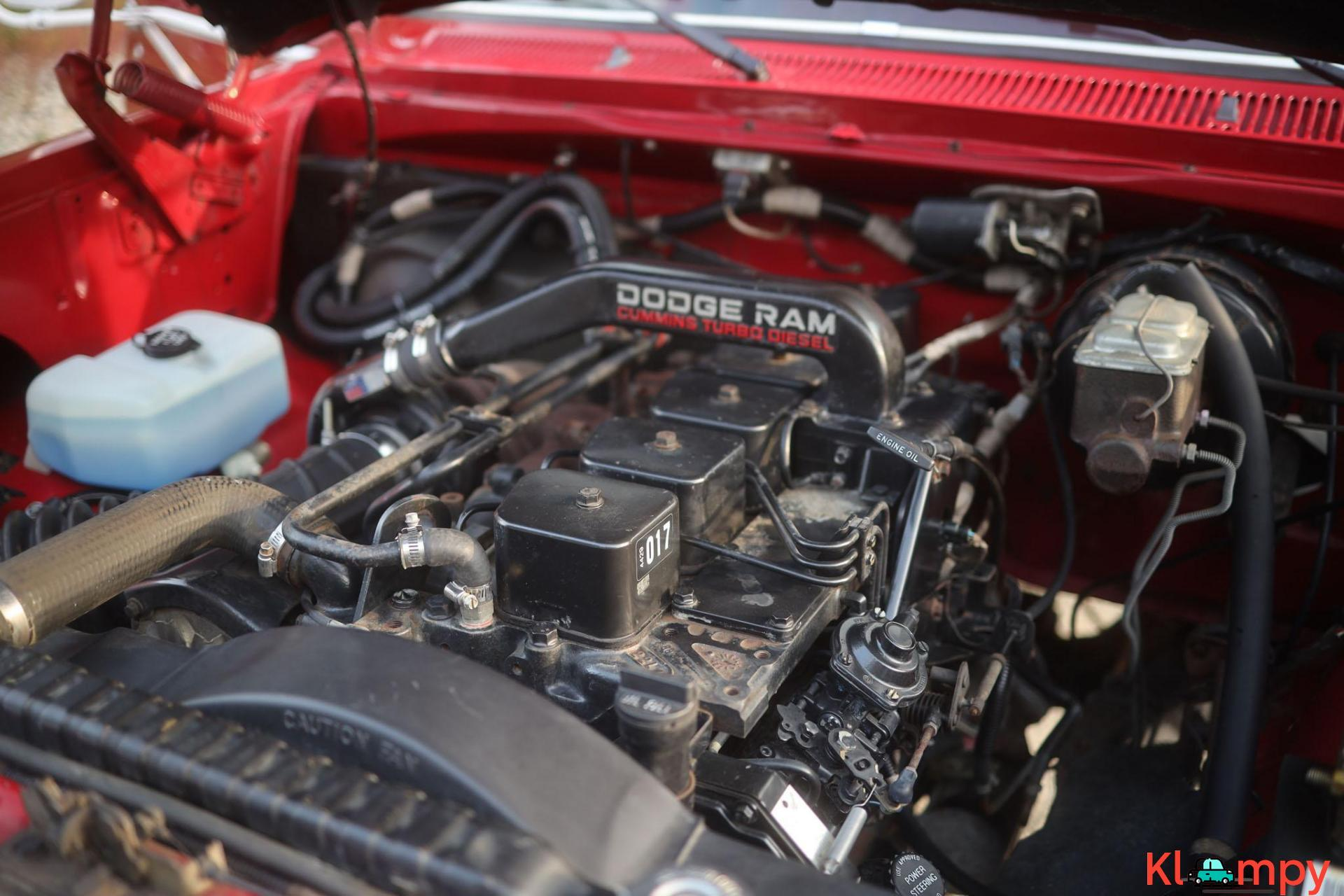 1989 Dodge Power Ram W350 4×4 Truck - 16/20