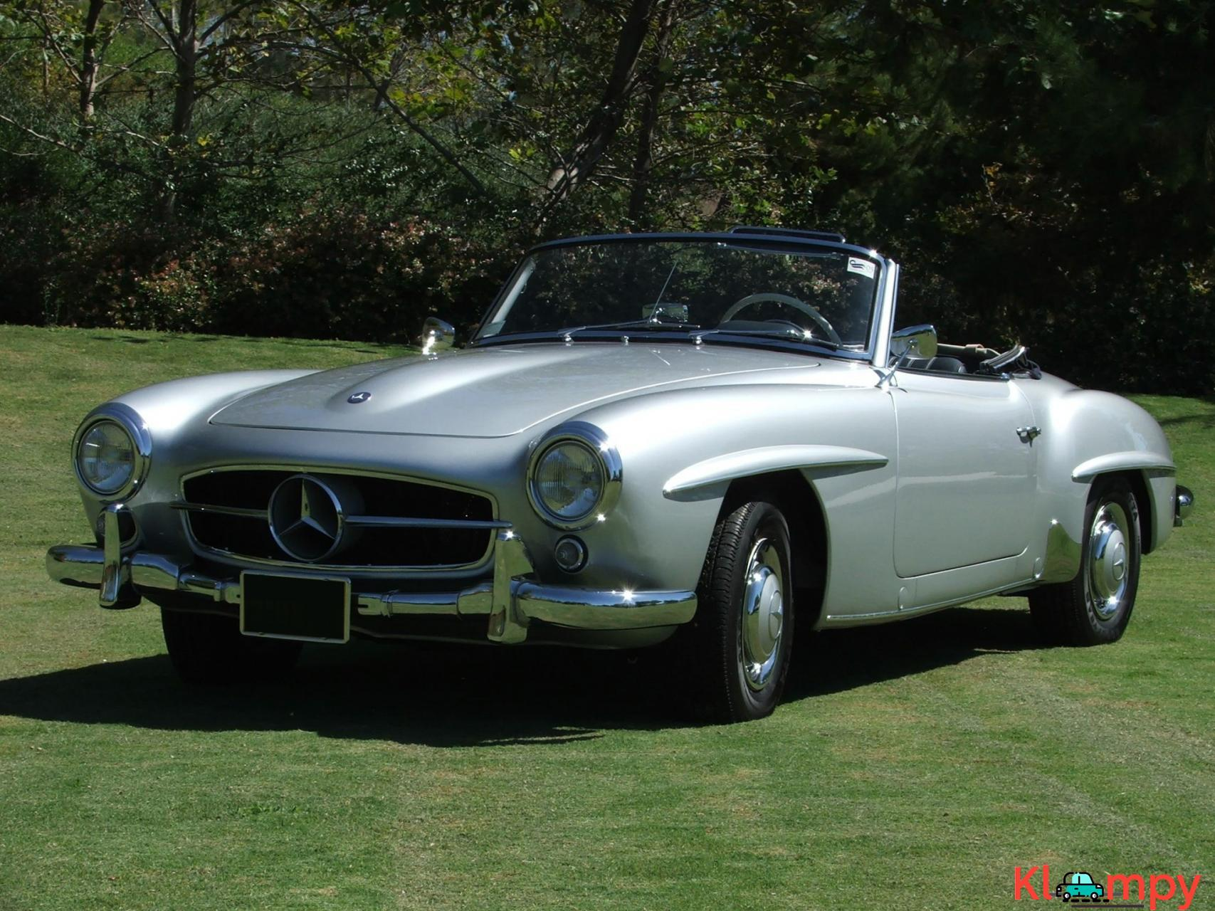 1957 Mercedes-Benz 190SL Brilliant Silver - 1/20