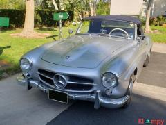 1957 Mercedes-Benz 190SL Brilliant Silver - Image 2/20