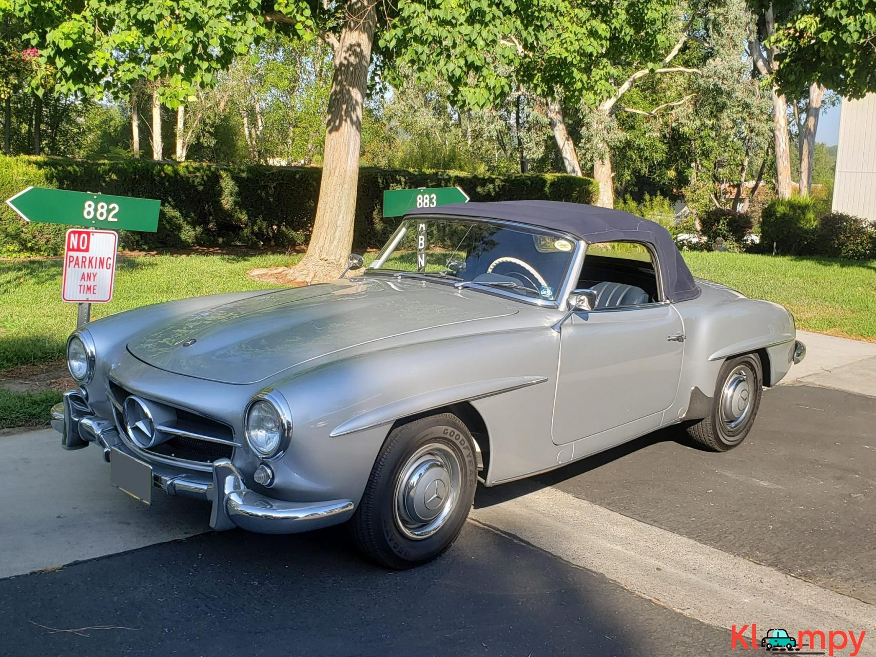 1957 Mercedes-Benz 190SL Brilliant Silver - 3/20