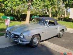 1957 Mercedes-Benz 190SL Brilliant Silver - Image 3/20