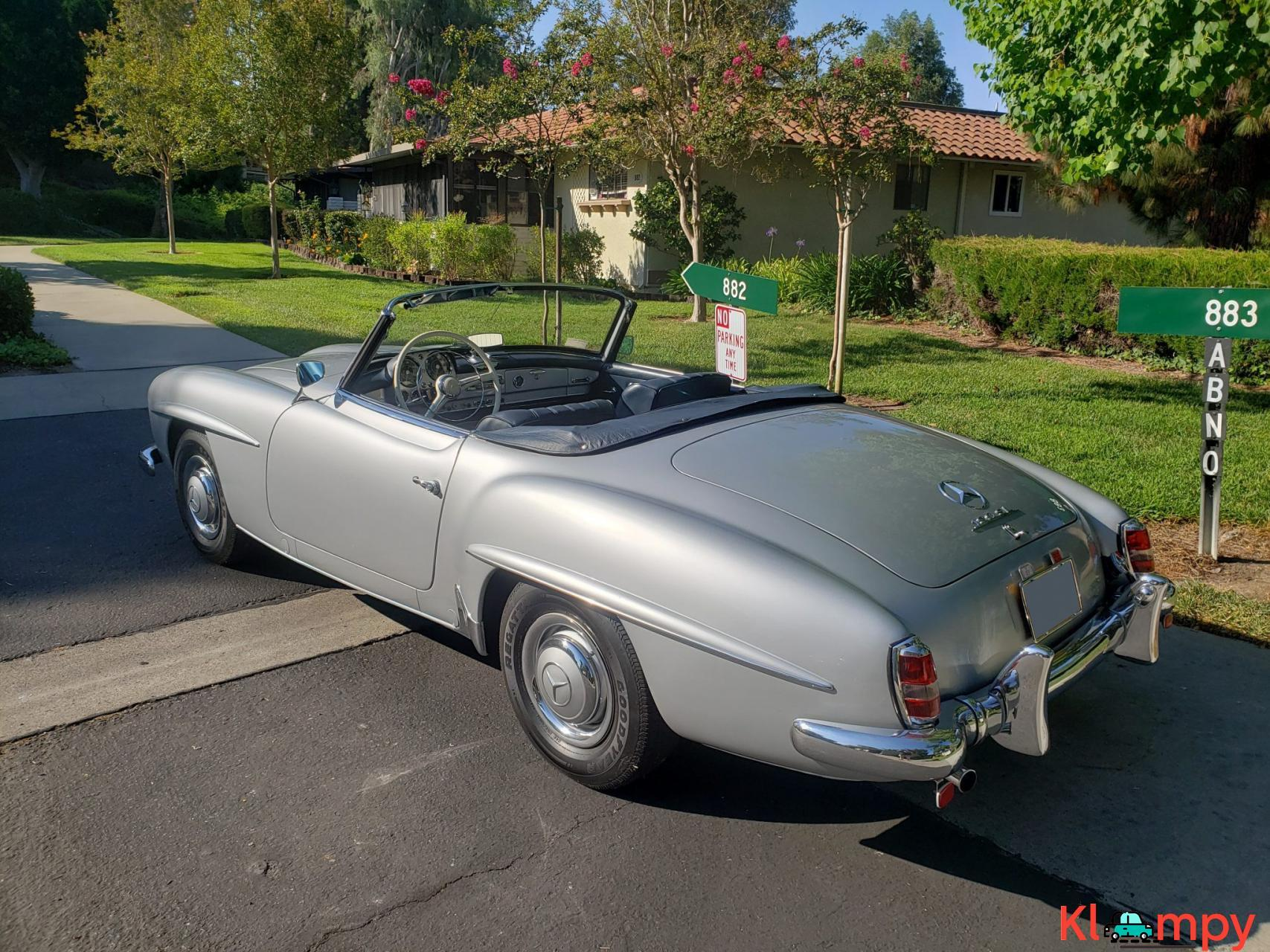 1957 Mercedes-Benz 190SL Brilliant Silver - 4/20