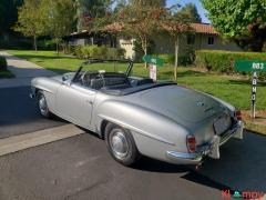 1957 Mercedes-Benz 190SL Brilliant Silver - Image 4/20