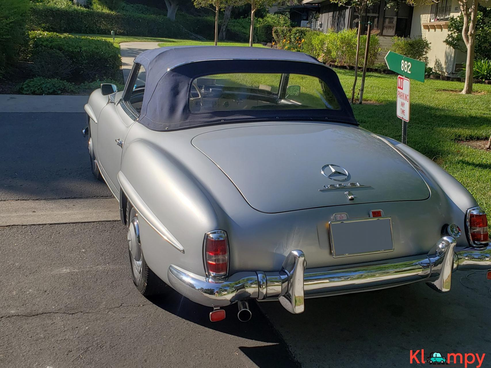 1957 Mercedes-Benz 190SL Brilliant Silver - 5/20