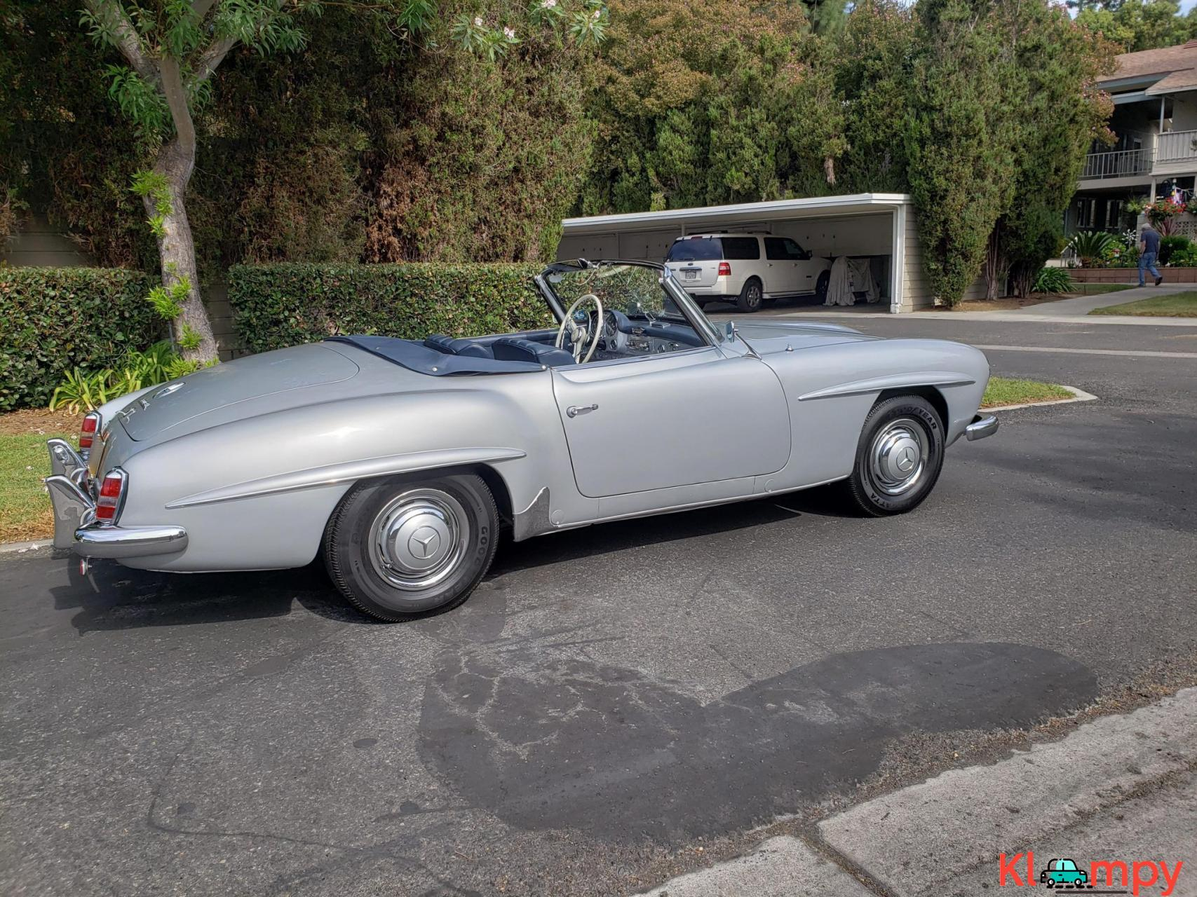 1957 Mercedes-Benz 190SL Brilliant Silver - 6/20