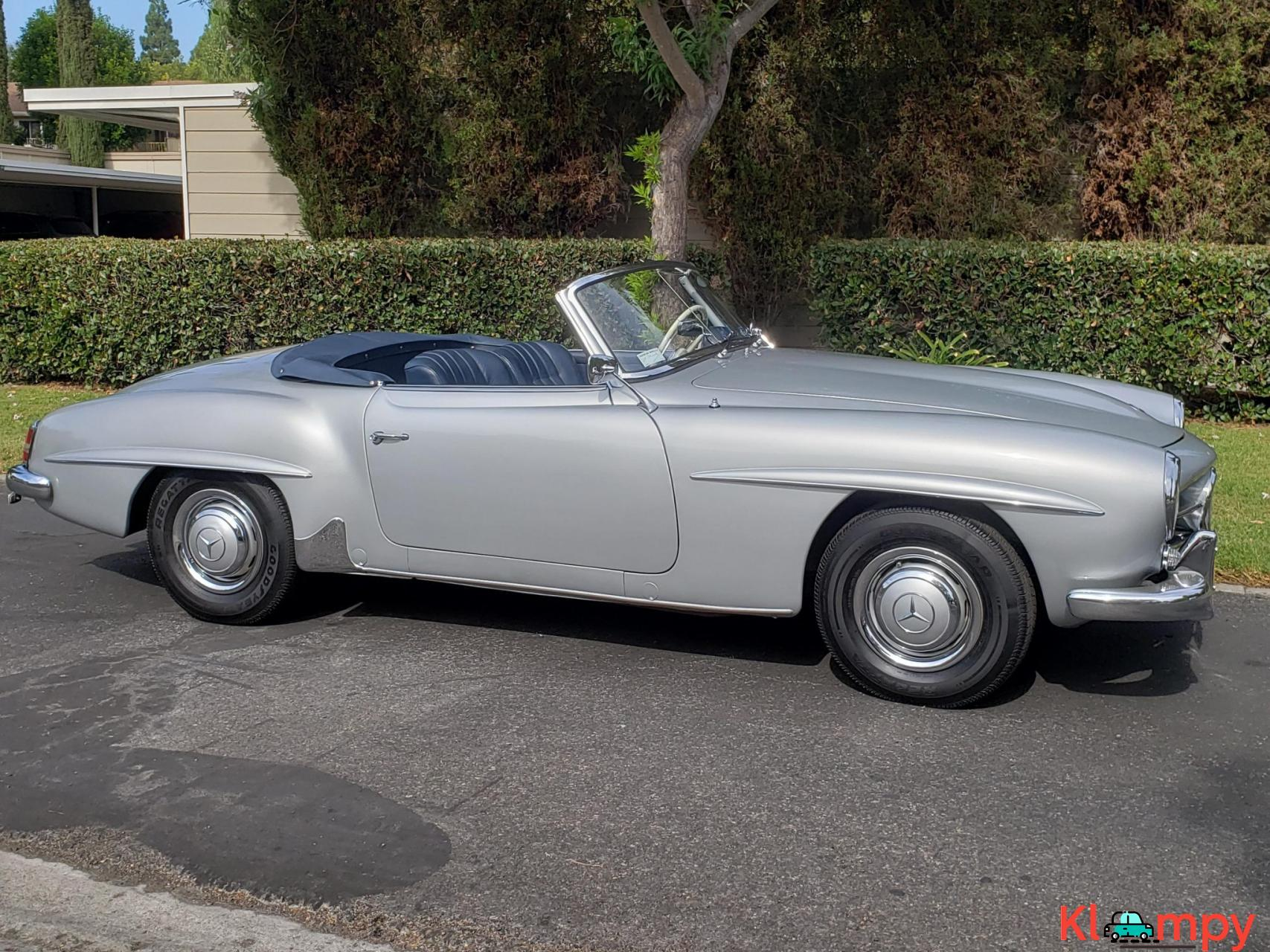 1957 Mercedes-Benz 190SL Brilliant Silver - 7/20