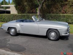 1957 Mercedes-Benz 190SL Brilliant Silver - Image 7/20
