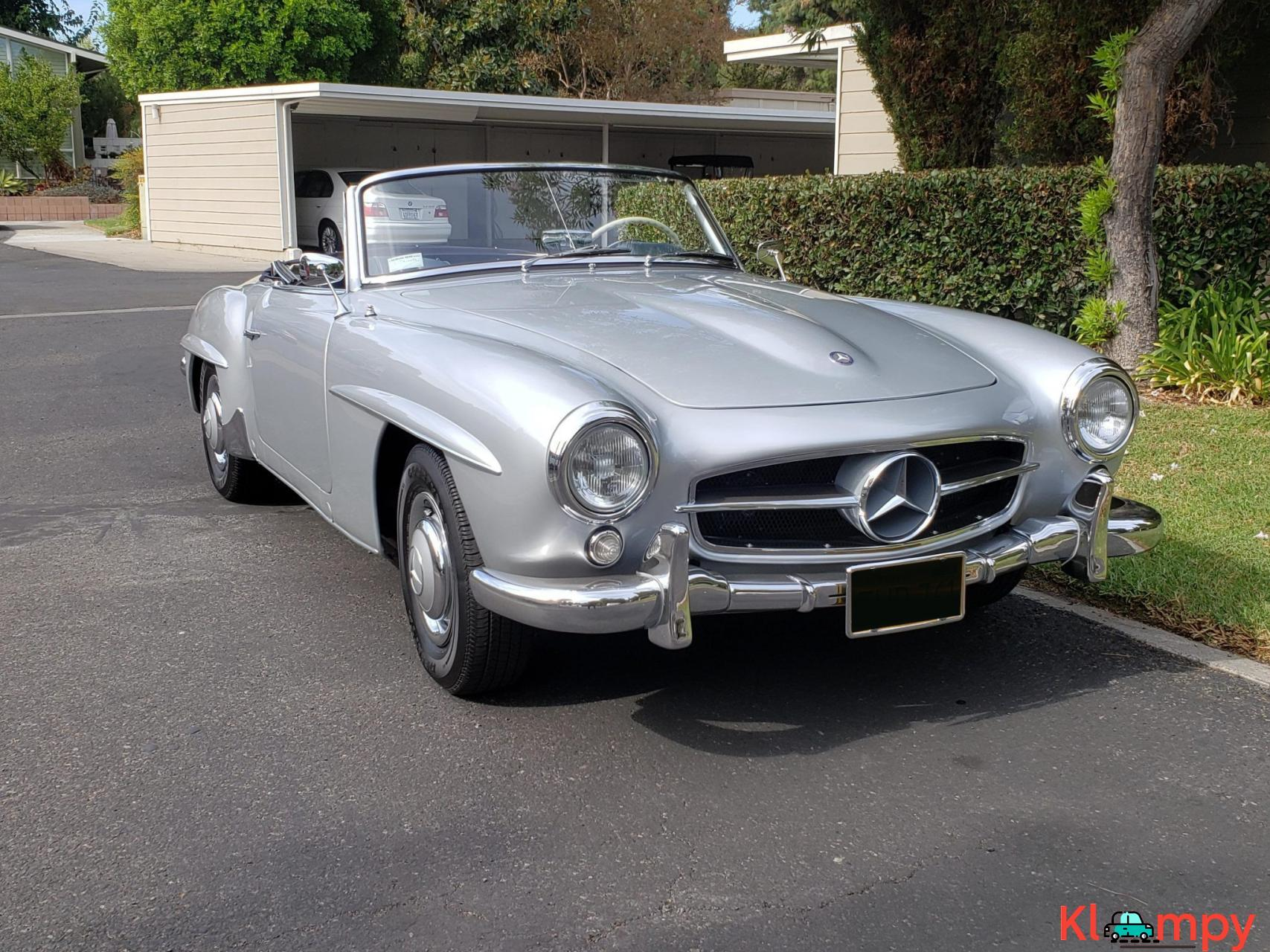 1957 Mercedes-Benz 190SL Brilliant Silver - 8/20