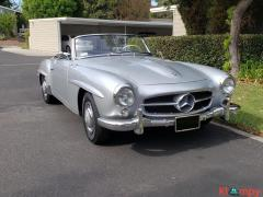 1957 Mercedes-Benz 190SL Brilliant Silver - Image 8/20
