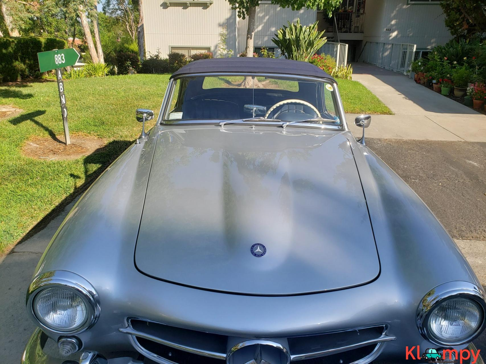 1957 Mercedes-Benz 190SL Brilliant Silver - 10/20
