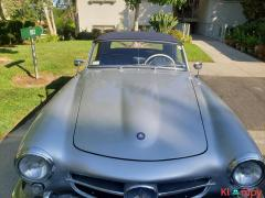 1957 Mercedes-Benz 190SL Brilliant Silver - Image 10/20