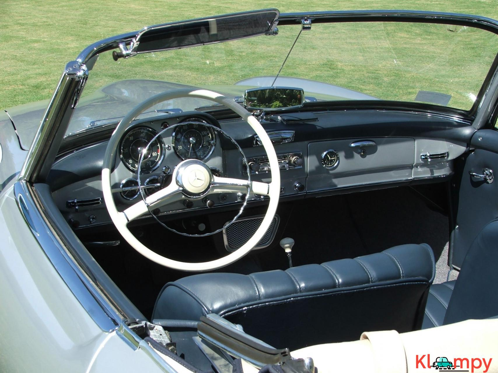 1957 Mercedes-Benz 190SL Brilliant Silver - 14/20