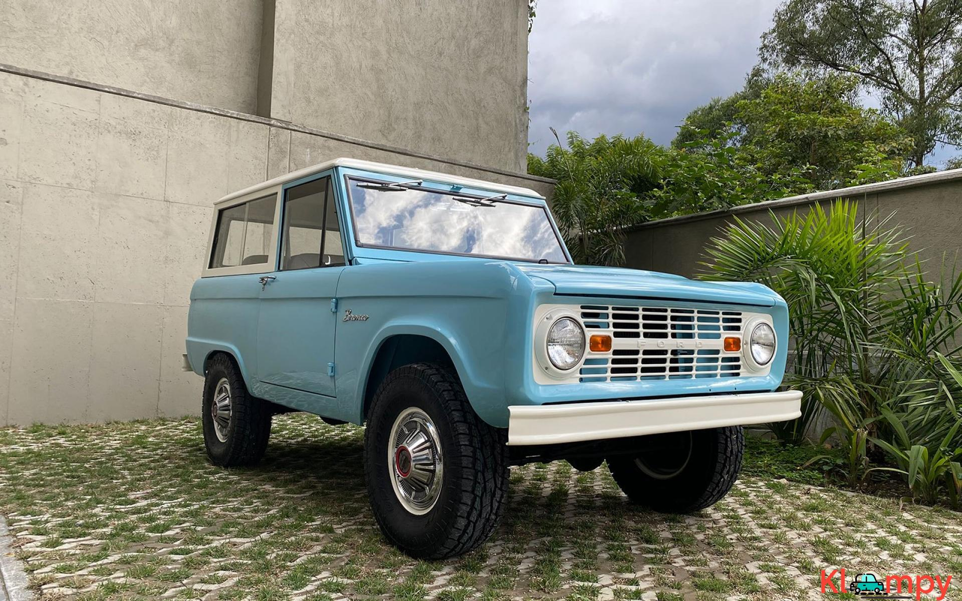 1967 Ford Bronco 170 Inline-Six - 4/21
