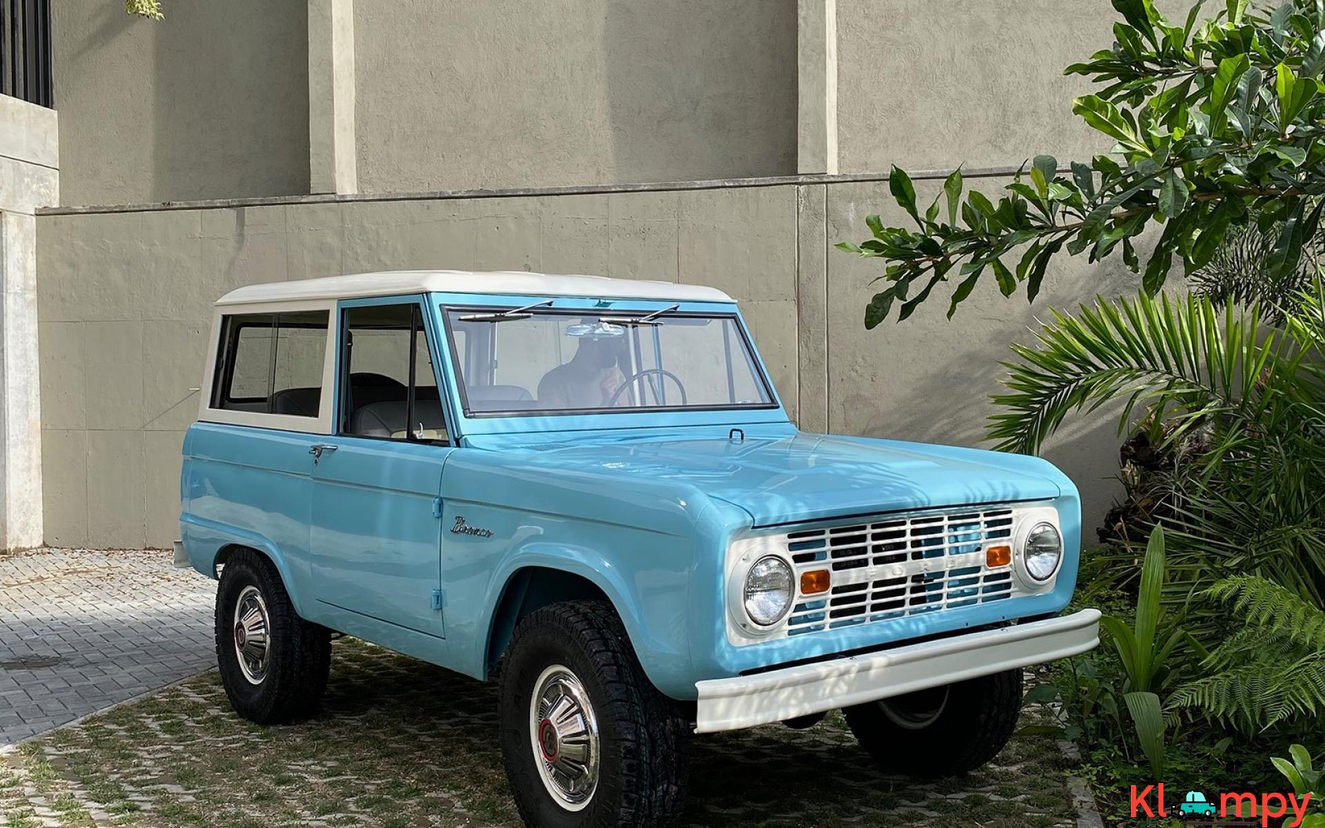 1967 Ford Bronco 170 Inline-Six - 5/21