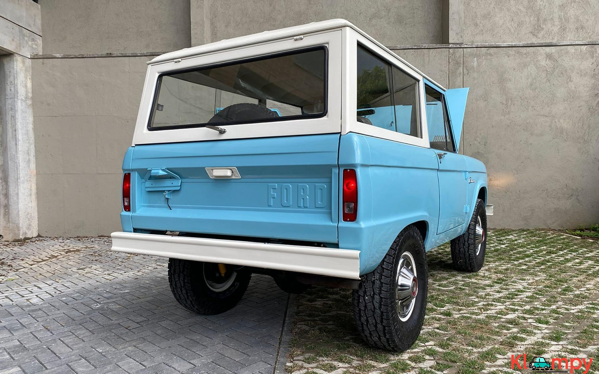 1967 Ford Bronco 170 Inline-Six - 7/21