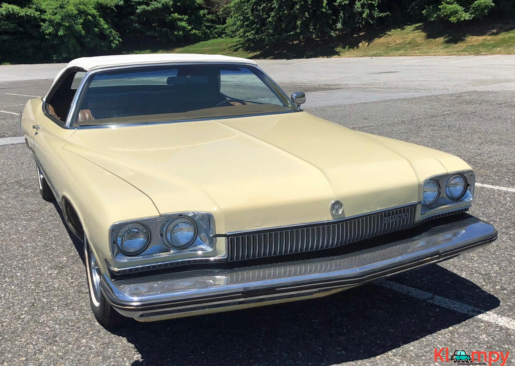 1973 Buick Centurion 350 Convertible V8 - 4/20