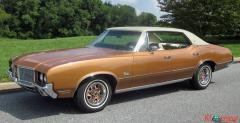1972 Oldsmobile Cutlass Sport Sedan V8 - Image 1/20