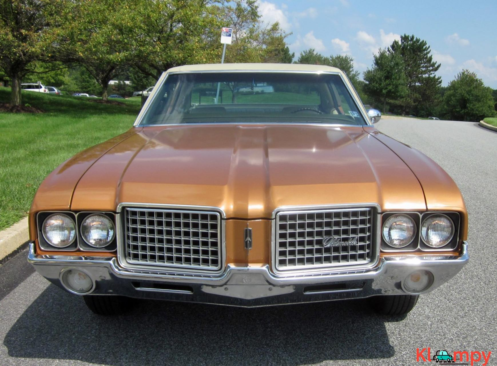 1972 Oldsmobile Cutlass Sport Sedan V8 - 4/20