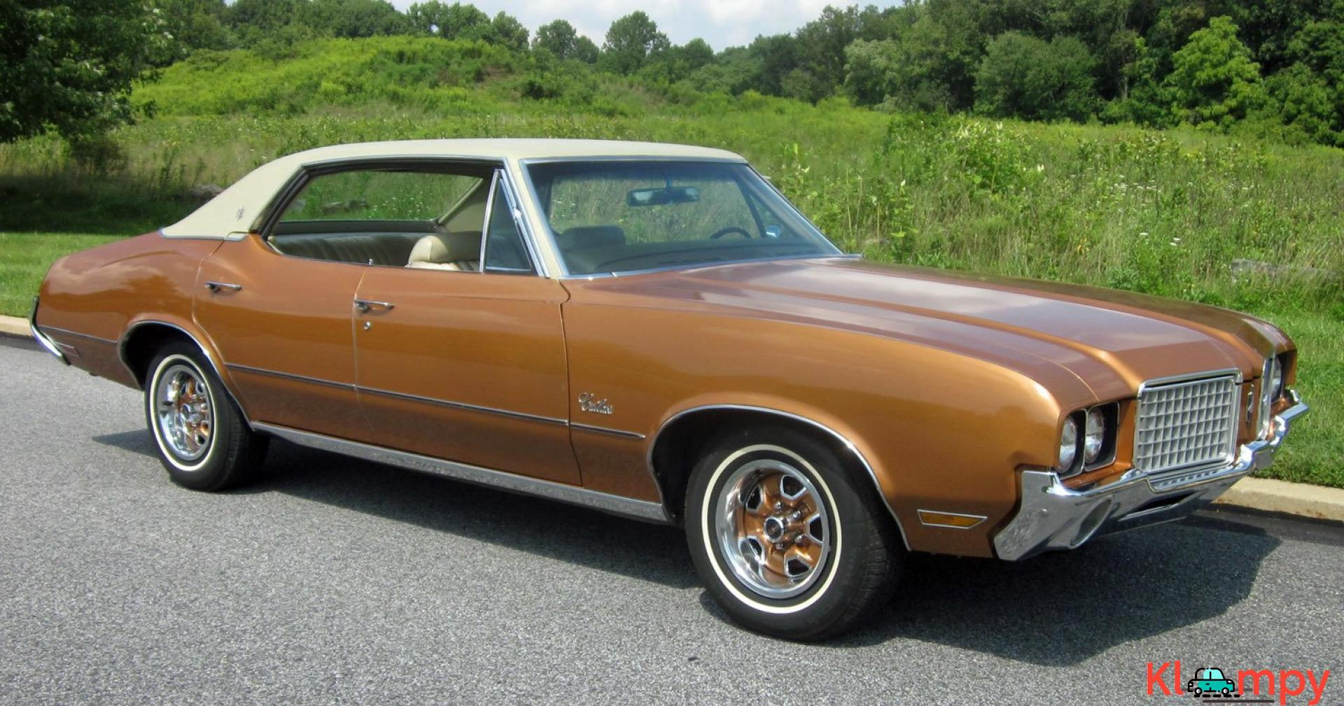 1972 Oldsmobile Cutlass Sport Sedan V8 - 5/20