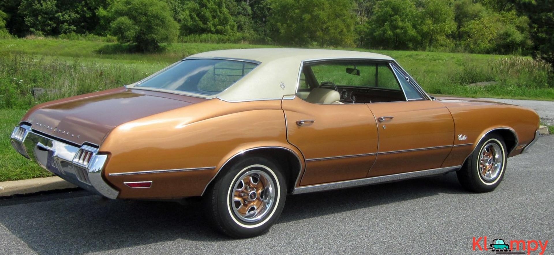 1972 Oldsmobile Cutlass Sport Sedan V8 - 7/20