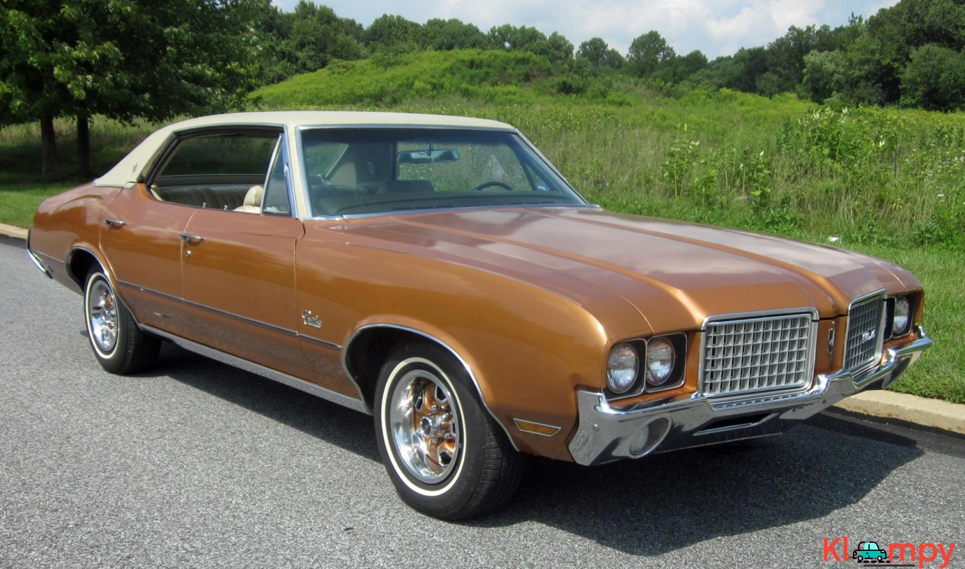1972 Oldsmobile Cutlass Sport Sedan V8 - 8/20