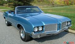 1972 Oldsmobile Cutlass Supreme 350 Convertible V8 - Image 1/19