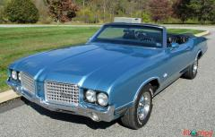 1972 Oldsmobile Cutlass Supreme 350 Convertible V8 - Image 3/19