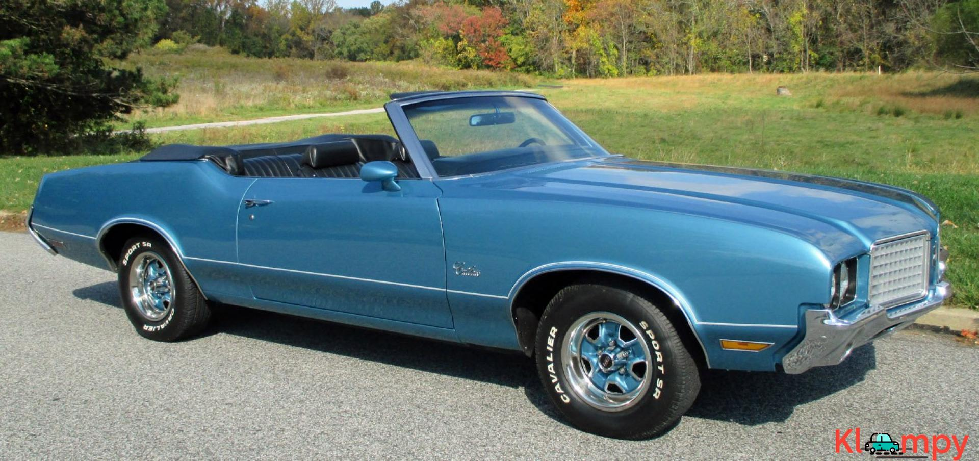 1972 Oldsmobile Cutlass Supreme 350 Convertible V8 - 4/19