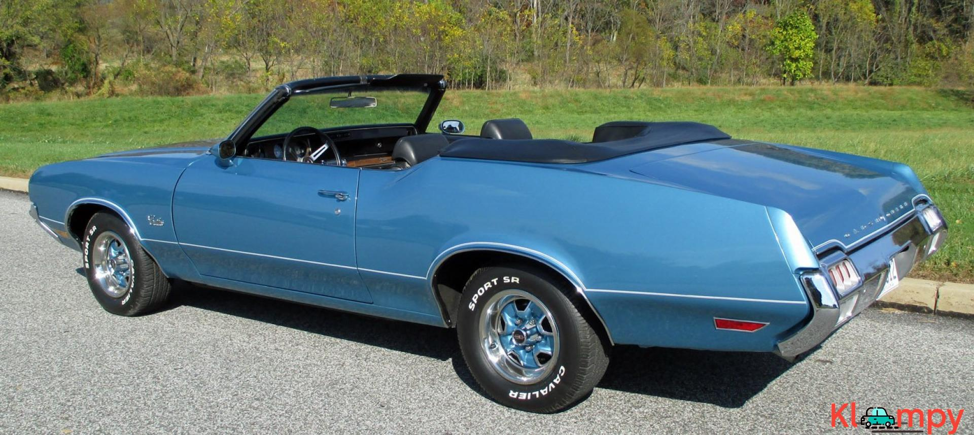 1972 Oldsmobile Cutlass Supreme 350 Convertible V8 - 6/19