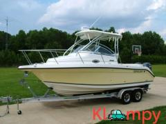 2006 Century 2400 Walk Around Twin Outboard Yamaha Engine