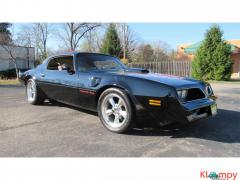 1981 Pontiac Firebird Trans Am 400 engine