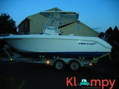 2003 Proline 23 24.5 feet Sport 225 Mercury Optimax