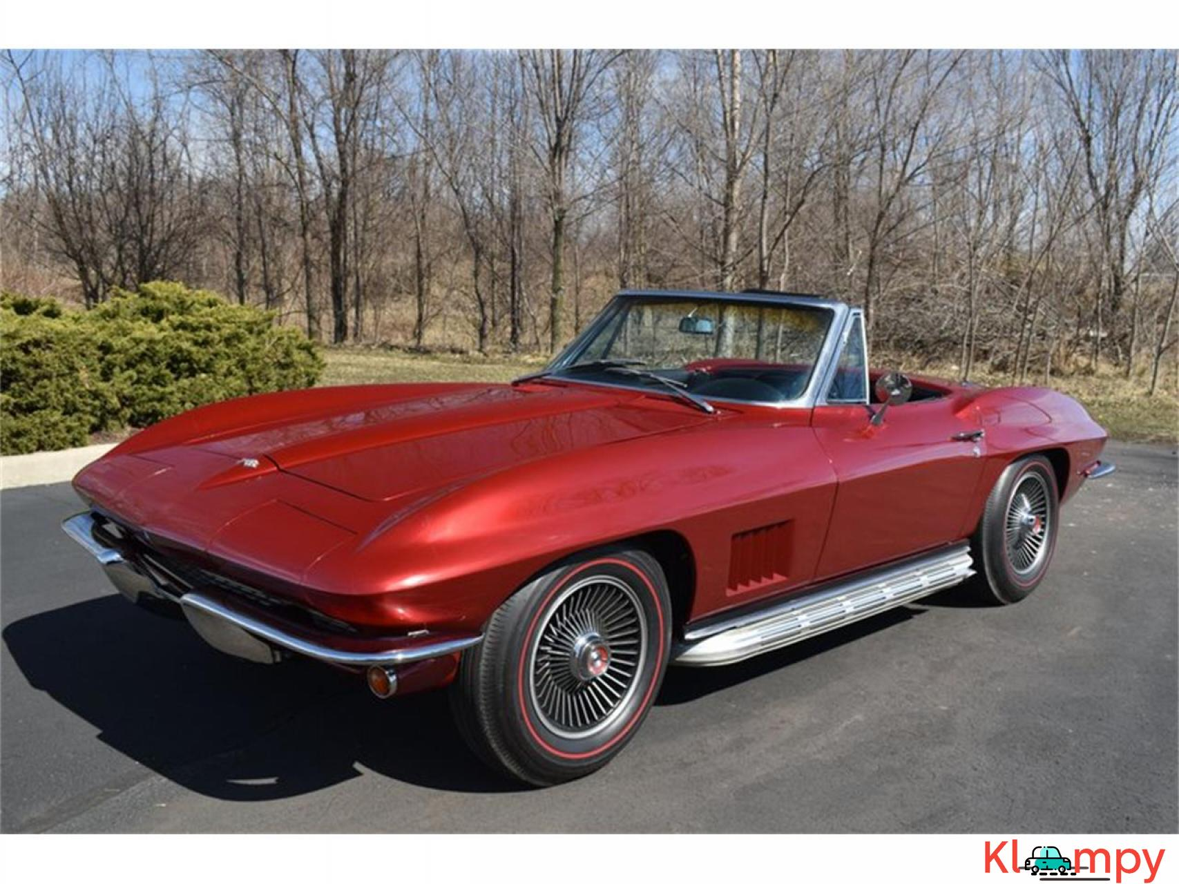 1967 Chevrolet Corvette 350HP 327 Cu In V8 - 1/20